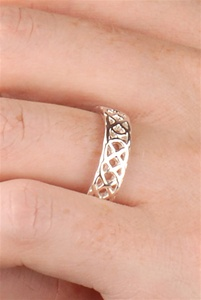 Celtic Wedding Rings WED174 ZOOM