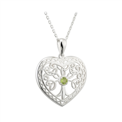 Silver Tree of Life Pendant S45485