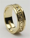 Ladies Celtic Wedding Rings LG-WED183