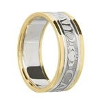 Ladies Celtic Wedding Rings LG-WED187