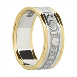 Ladies Celtic Wedding Rings LG-WED257