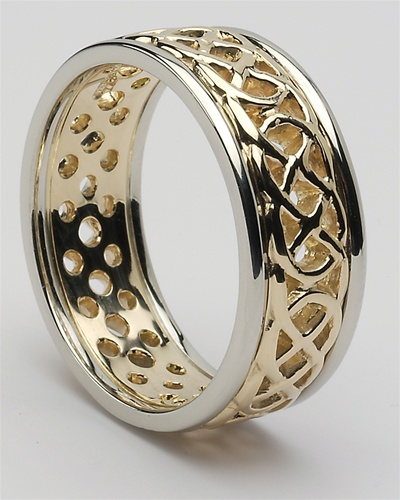 Awesome Mens Celtic Wedding Rings MG WED176