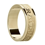 Mens Celtic Wedding Rings MG-WED214