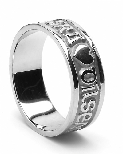 Silver Mens Celtic Wedding Rings. Made In Ireland View Larger Photo Email  ...