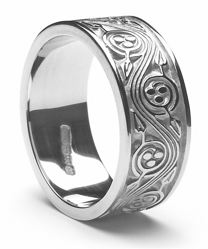 Mens Celtic Wedding Rings MSWED305