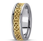 Mens Celtic Wedding Rings UMG-HM221