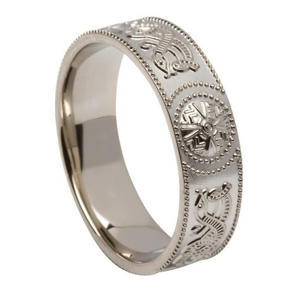 Celtic Wedding Rings US WED33