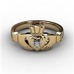 Claddagh Ring YELLOW-ASU2-10