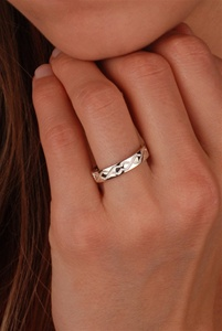 Celtic Wedding Rings WED103 ZOOM
