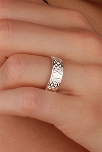 Celtic Wedding Rings WED294 ZOOM