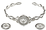 Silver Claddagh Interchangeable Bracelet BB01