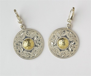 Celtic Warrior Earrings E-WE2B