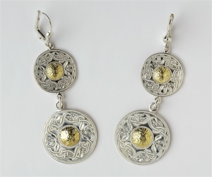 Celtic Warrior Earrings E-WE3B