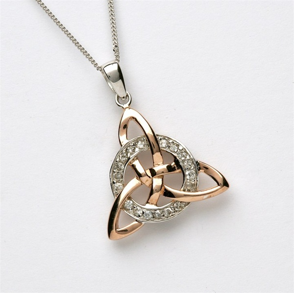 pendant pendants celtic gold jewellery