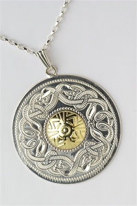Celtic Warrior Pendants P-WP5B
