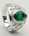 Silver Unisex Fraternity Celtic Rings