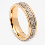 Celtic Wedding Rings MG-WED438G