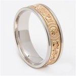 Celtic Wedding Rings MG-WED441G