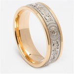 Celtic Wedding Rings MG-WED442G