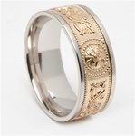 Celtic Wedding Rings MG-WED443G
