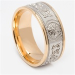Celtic Wedding Rings MG-WED444G
