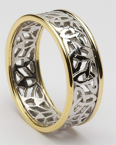 mens celtic trinity wedding rings mg wed148. Black Bedroom Furniture Sets. Home Design Ideas