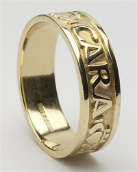 Mens Celtic Wedding Rings MG-WED184