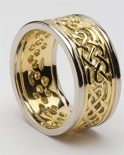 Mens Celtic Wedding Rings MG WED96