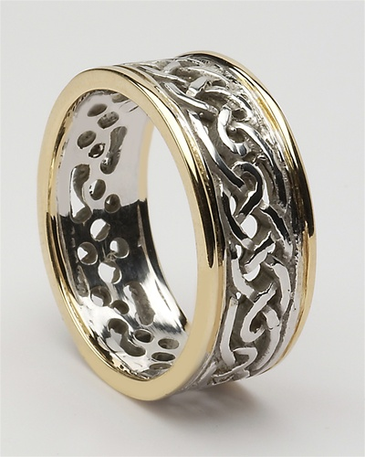 Charmant Mens Celtic Wedding Rings MG WED98