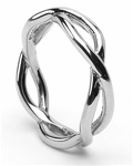 silver mens celtic wedding rings