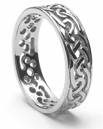 Irish Wedding Ring | Mens Celtic Wedding Rings Ms Wed94