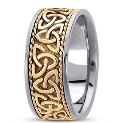 unisex celtic wedding rings uug hm209 - Irish Wedding Ring