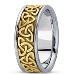 Unisex Celtic Wedding Rings UUG-HM222