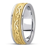 Celtic Wedding Rings UUG-HM259