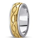 Celtic Wedding Rings UUG-HM284